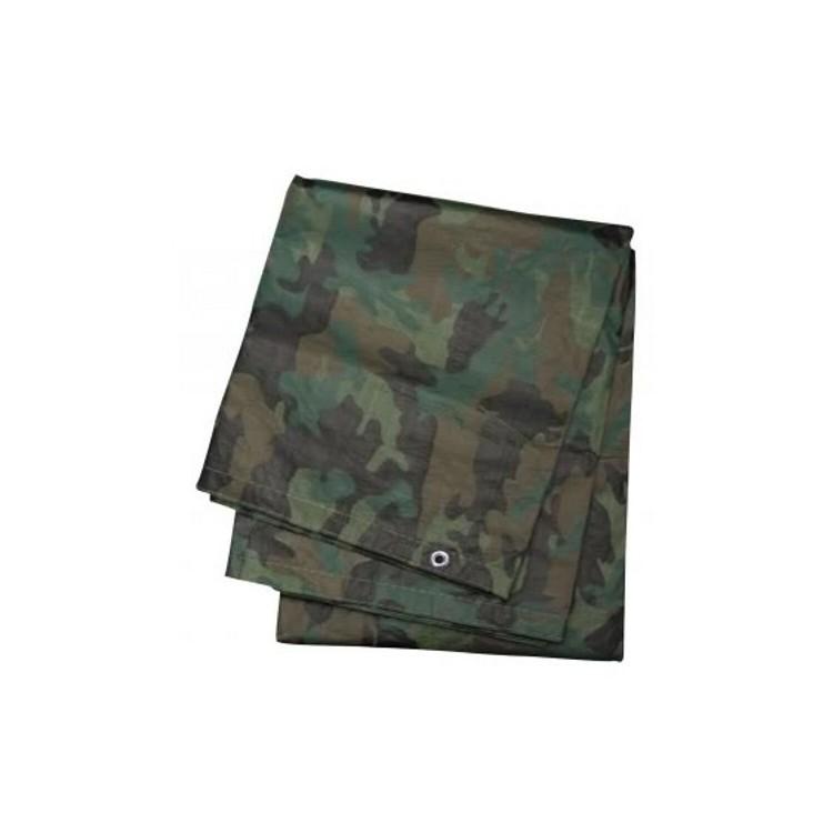 Bâche Camouflage 3,5 x 5 m