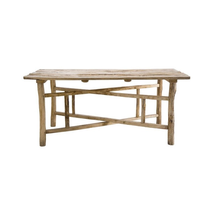 table pliante chataignier