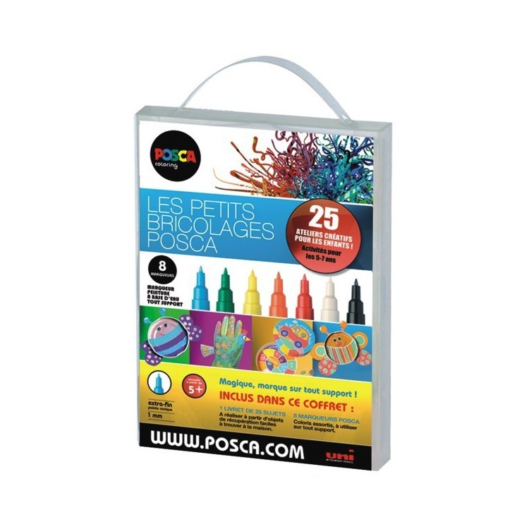 coffret posca loisirs cr atifs achat vente feutre posca. Black Bedroom Furniture Sets. Home Design Ideas