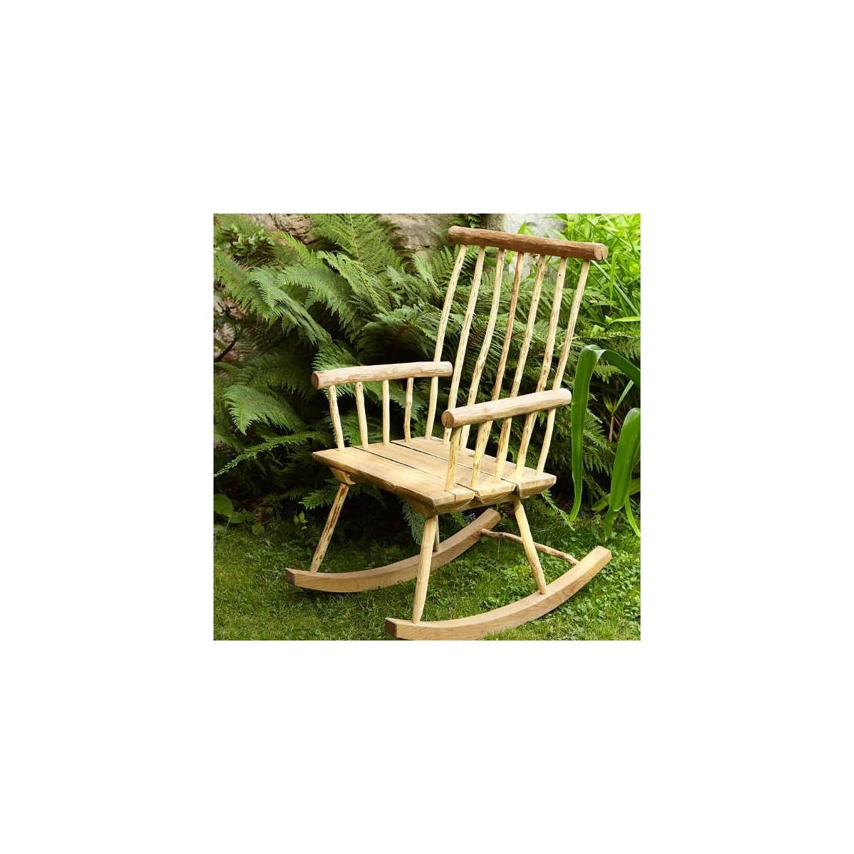fauteuil bascule mobilier de jardin en bois botanique editions. Black Bedroom Furniture Sets. Home Design Ideas