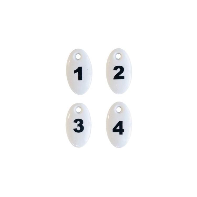 Chiffres Porcelaine N° 1...4