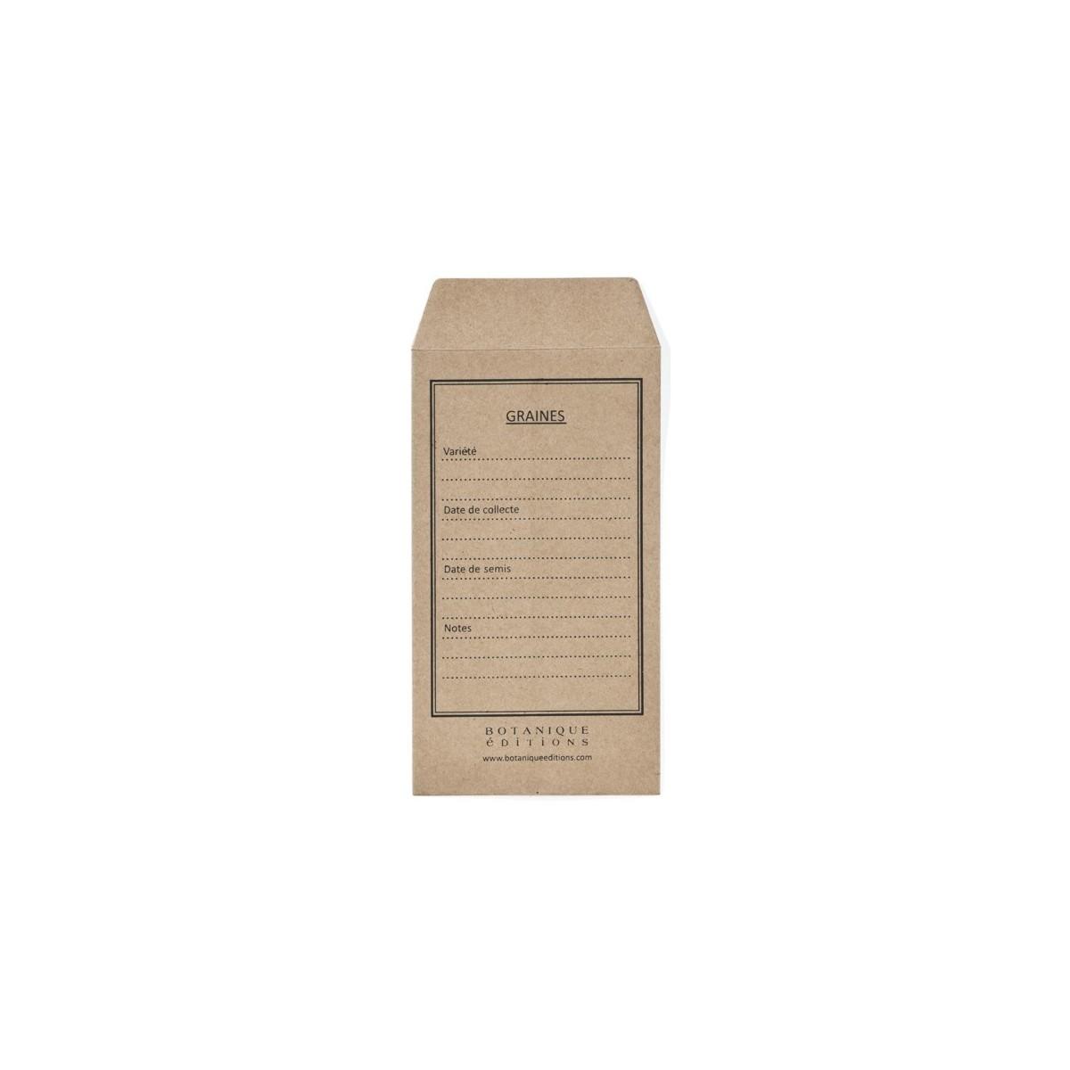 Sachets de Graines Kraft  Botanique Editions