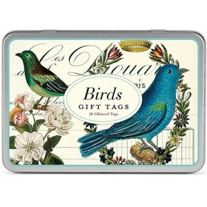 Etiquettes Cadeau Gift Tags 'Oiseaux'