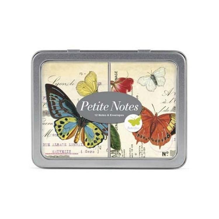 Cartes de Correspodance Petites Notes Papillons