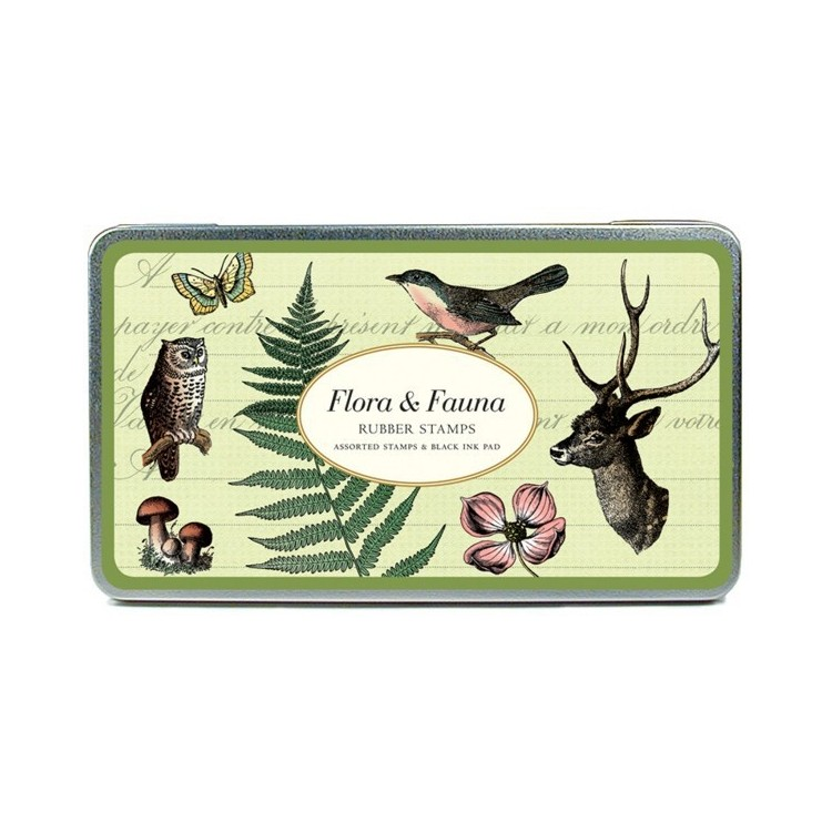 Tampons 'Faune & Flore'