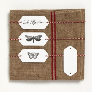 Etiquettes Papier Marque Place