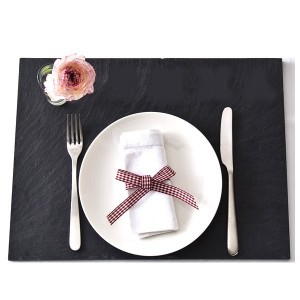 6 Sets de Table Ardoise 30 x 23 cm