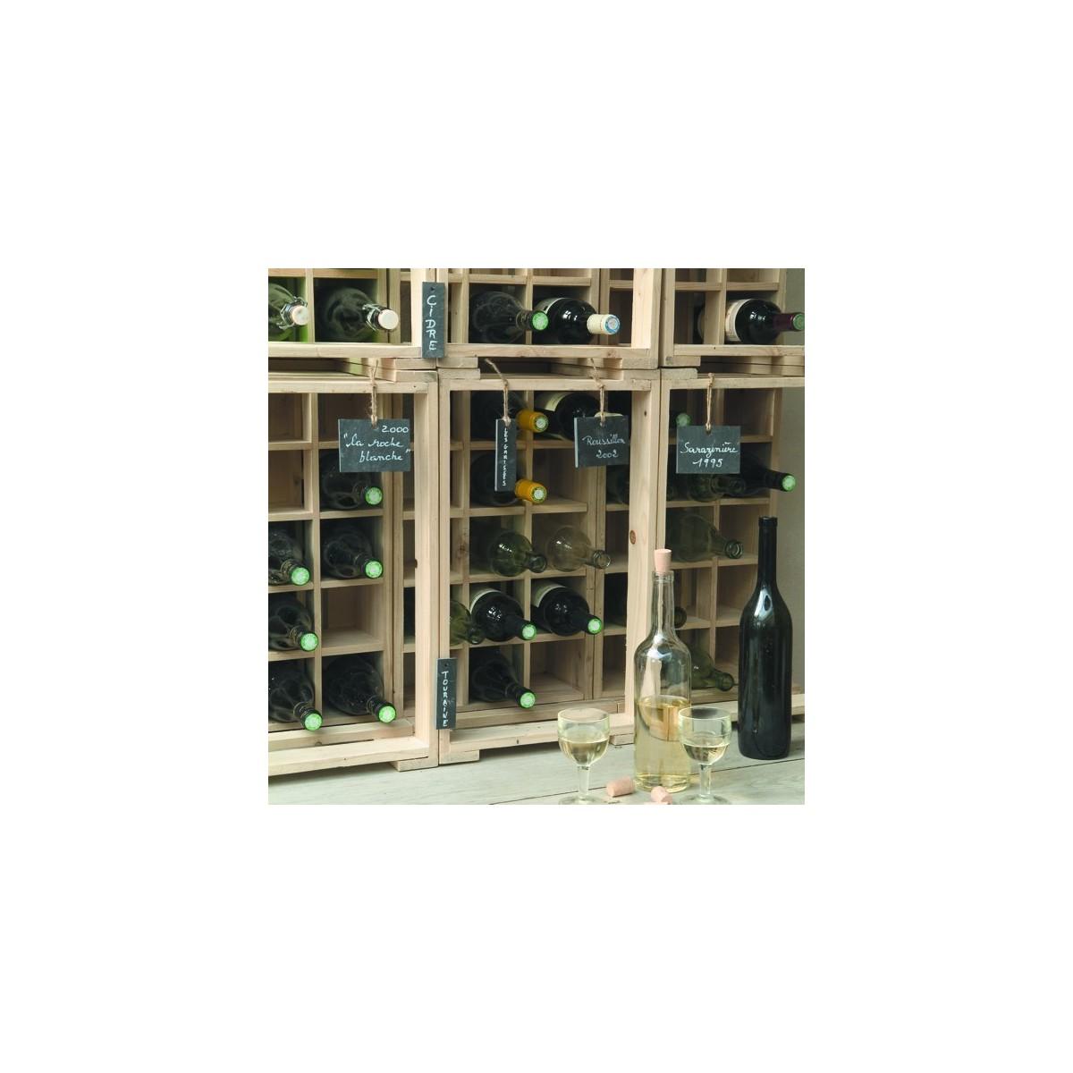 casier bouteilles botanique editions. Black Bedroom Furniture Sets. Home Design Ideas
