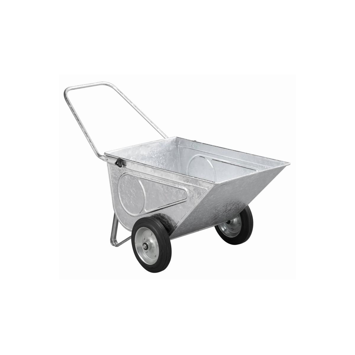 Chariot de jardin acier galva achat vente charriot de for Chariot de jardin 2 roues