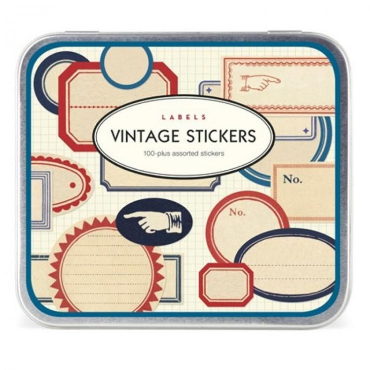 Etiquettes Autocollantes Vintage Stickers 'Etiquettes'