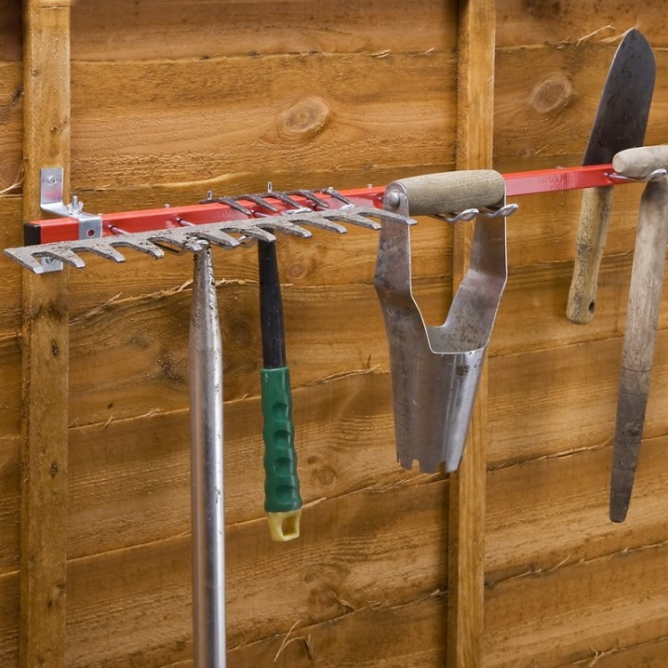 Rack Range Outils de Jardin