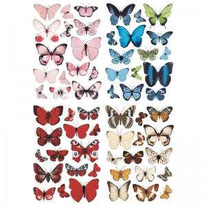 Papillons de Papier à Découper