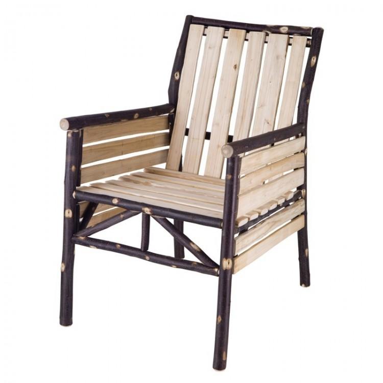 fauteuil en châtaignier pré du lac