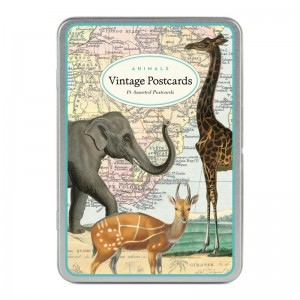 Cartes Postales Vintages Animaux