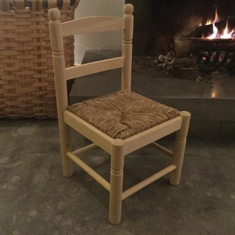 chaise en paille enfant botanique editions. Black Bedroom Furniture Sets. Home Design Ideas