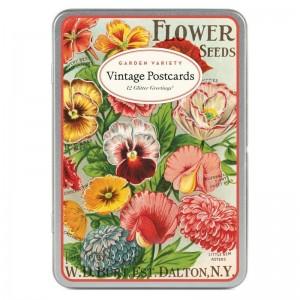 Cartes Postales Vintages 'Garden Variety'