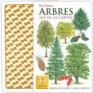 jeu de cartes arbres