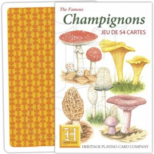 jeu de cartes champignon