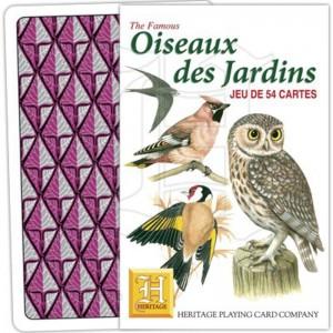 Jeu de Cartes Oiseaux des Jardins