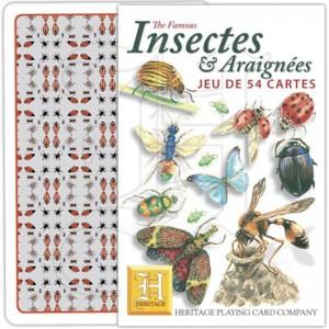 Jeu de Cartes Insectes & Araignées