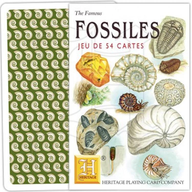 Jeu de Cartes Fossiles