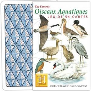 Jeu de Cartes Oiseaux Aquatiques