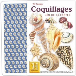 Jeu de Cartes Coquillages