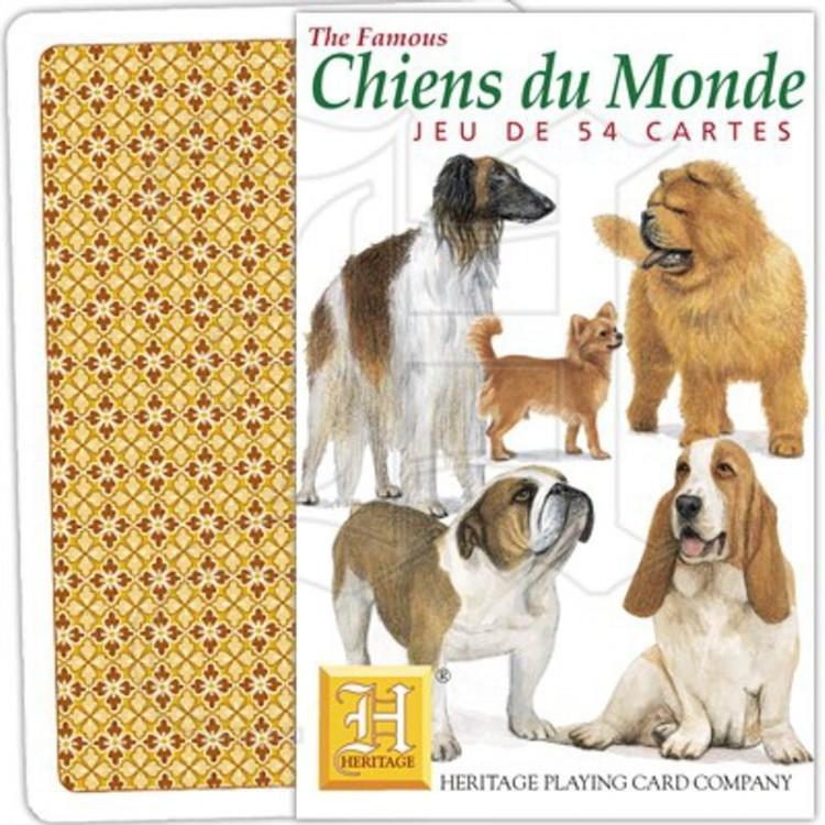 Jeu de cartes chiens du monde botanique editions - Bon de reduction maison du monde ...