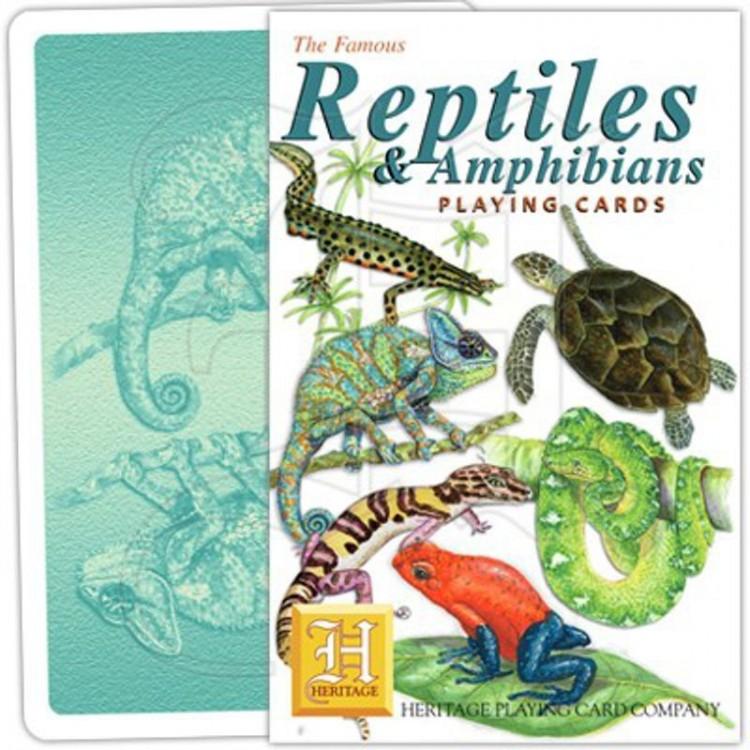 Jeu de Cartes Reptiles & Amphibiens