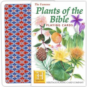 Jeu de Cartes Plants of the Bible
