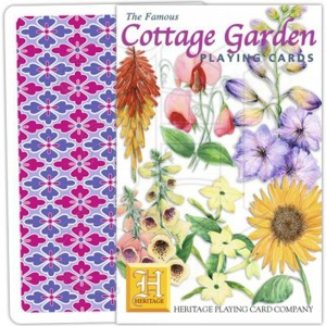 Jeu de Cartes Cottage Garden