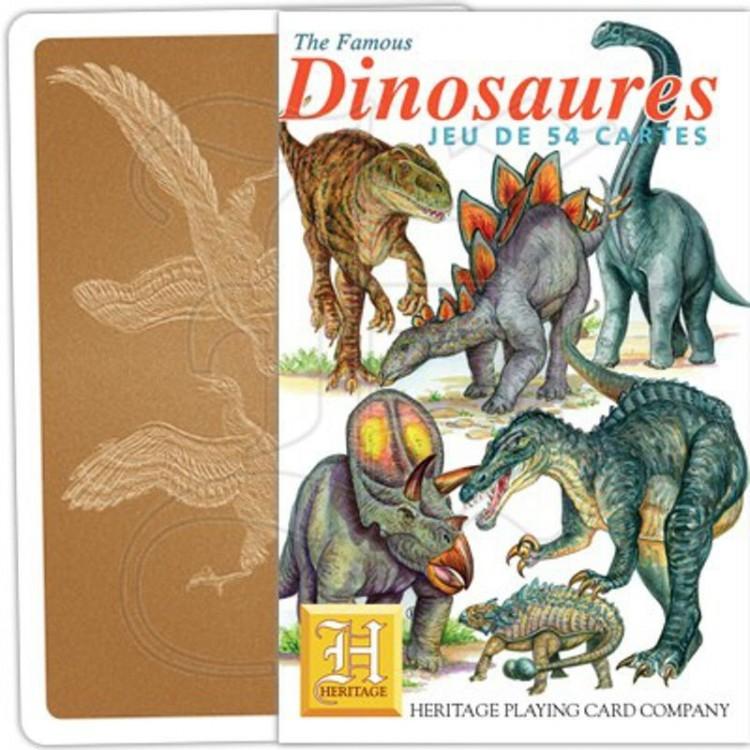 Jeu de Cartes Dinosaures