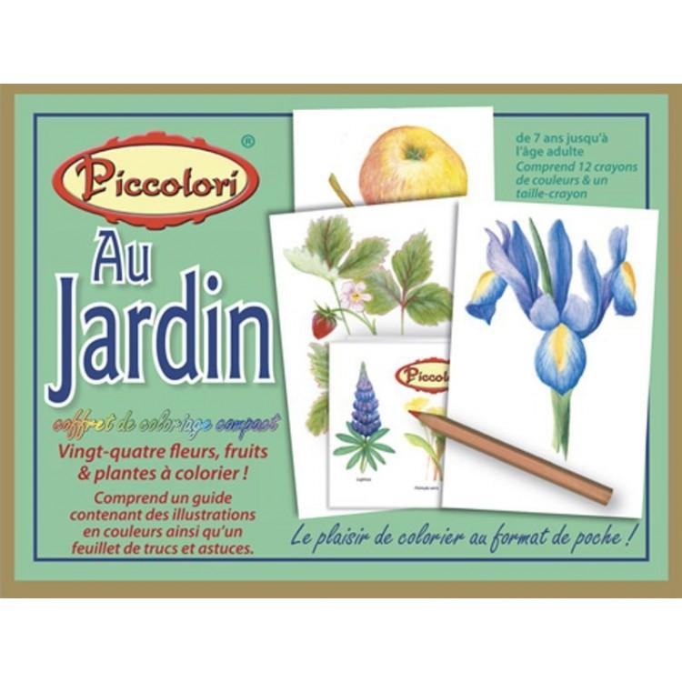 Coffret de Coloriage 'Au Jardin'