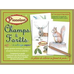 Coffret de Coloriage 'Champs & Forêts'