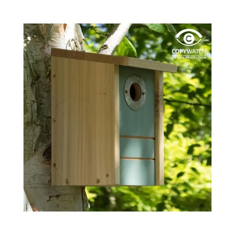 Abris pour oiseaux convertible nichoir / mangeoire