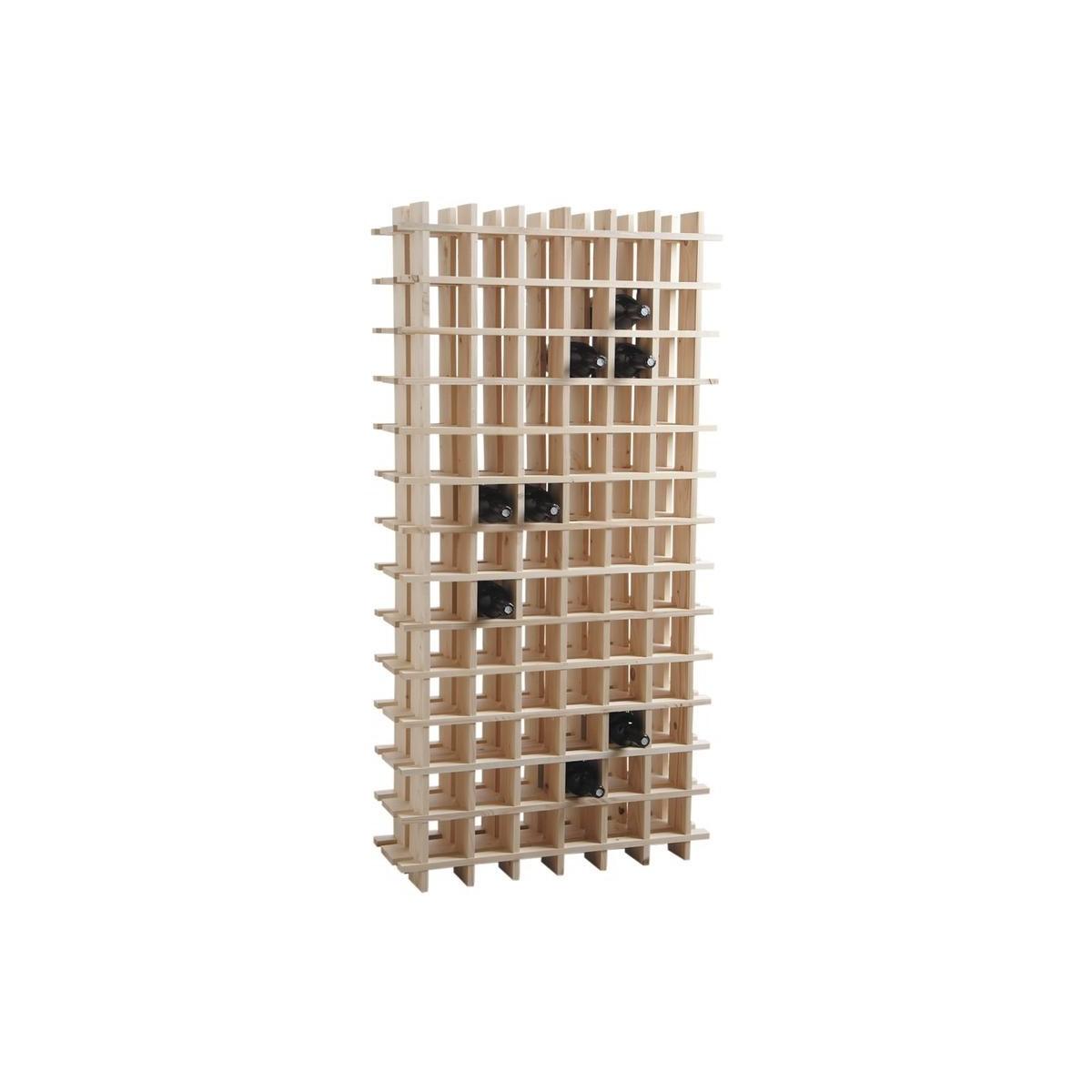 rangement casier 78 bouteilles botanique editions. Black Bedroom Furniture Sets. Home Design Ideas