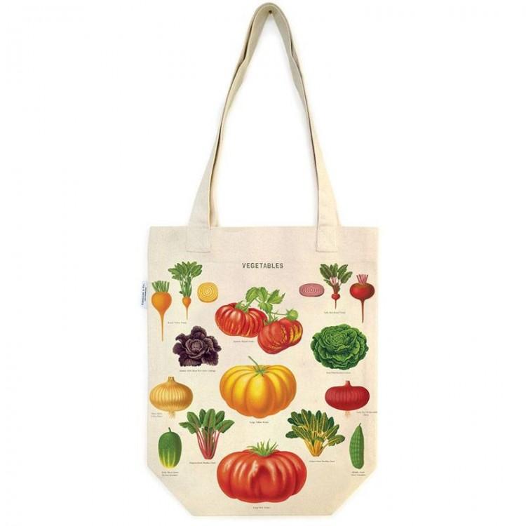 Sac en Toile Tote bag légumes du jardin