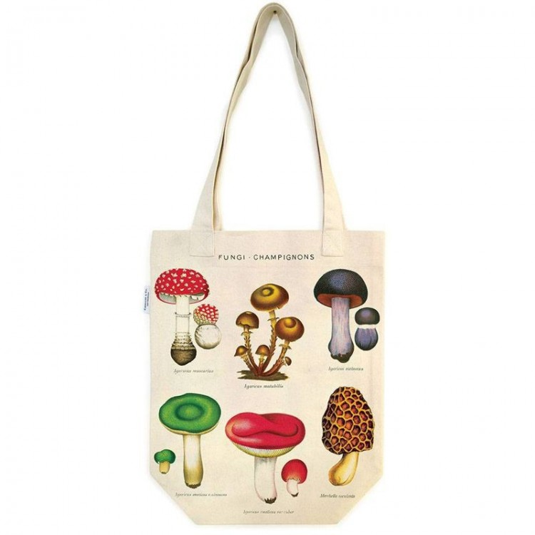 Sac en Toile Tote Bag champignons