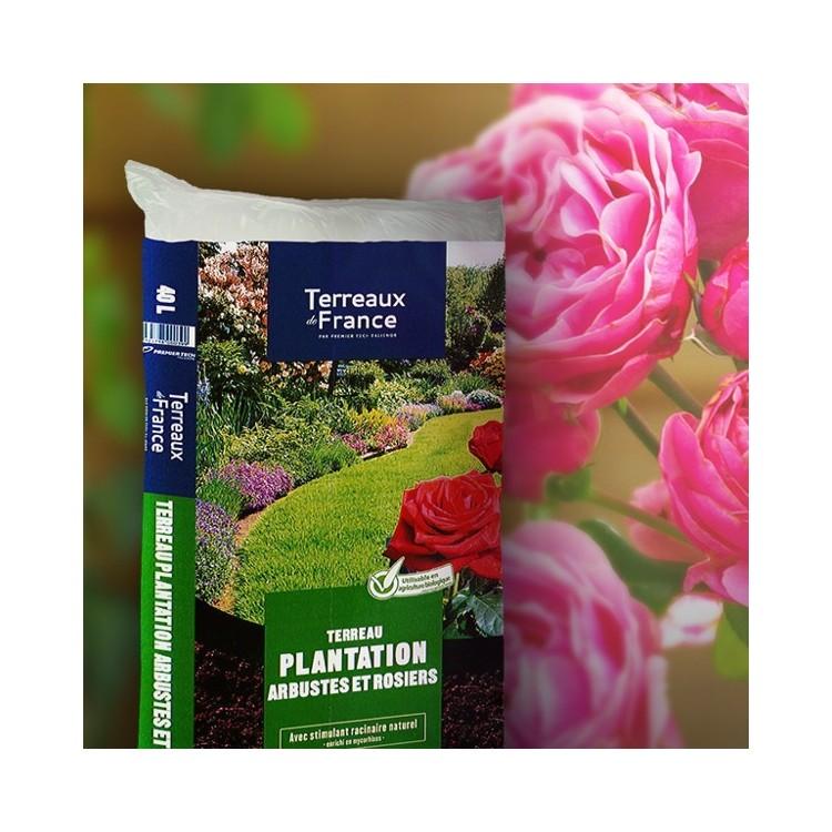 terreau plantation arbustes rosiers terreau de france paillages terreau botanique editions. Black Bedroom Furniture Sets. Home Design Ideas