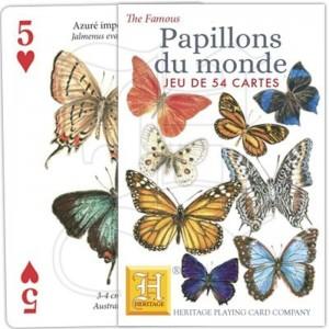 Jeu de Cartes Papillons