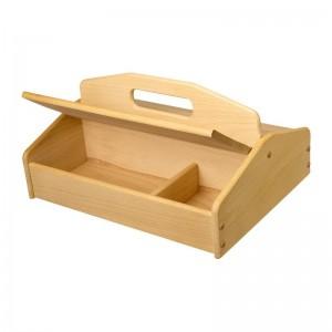 Boîte pour l'entretien des chaussures