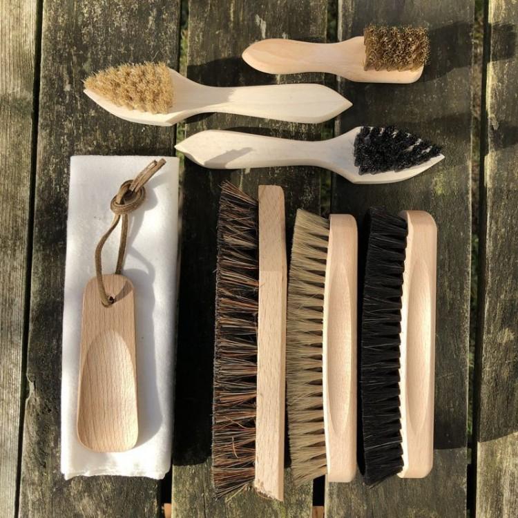 Kit d'entretien pour chaussures