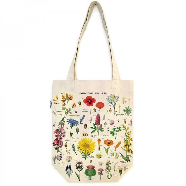 Sac en Toile Tote Bag Fleurs Sauvages