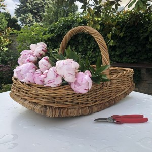 Panier Plat à Bouquets