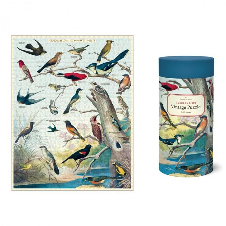 Puzzle Oiseaux d'Audubon Cavallini