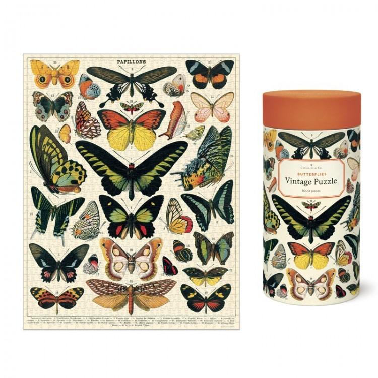 Puzzle Papillons Cavallini
