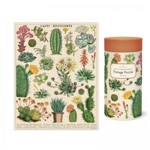 Puzzle Cactus et Succulentes Cavallini