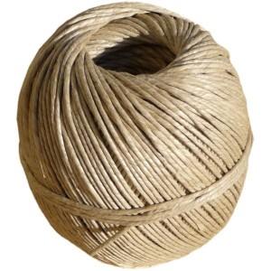 ficelle de lin, corde à guinder
