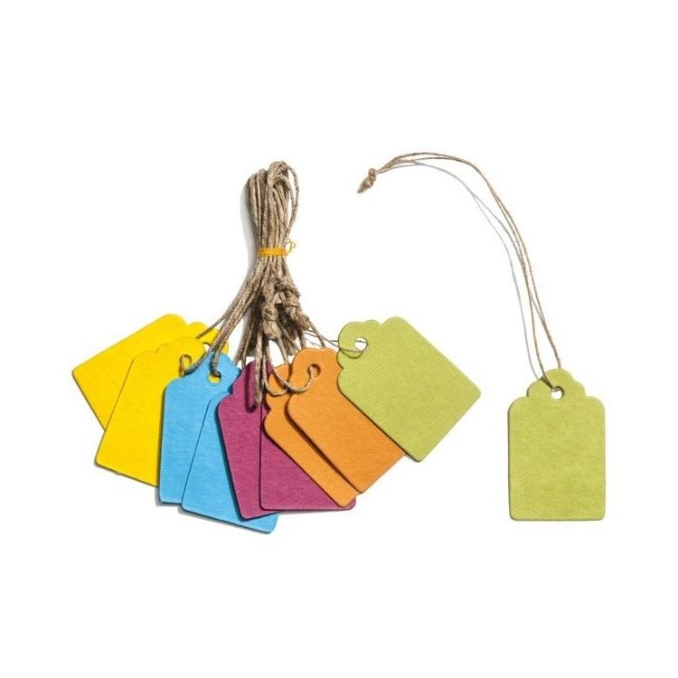 Etiquettes Papier Couleur Bijoux