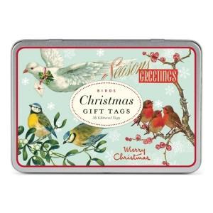Etiquettes cadeau Noël